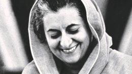 ইন্দিরা গান্ধী