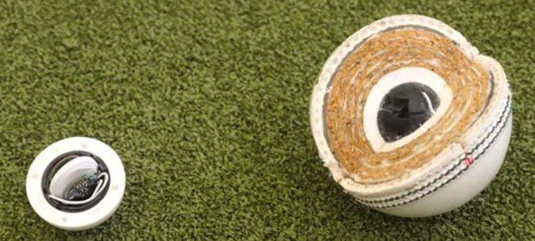 ক্রিকেট বলে মাইক্রোচিপ
